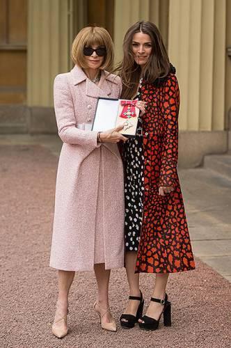Анна Винтур с дочерью Би Шафер фото