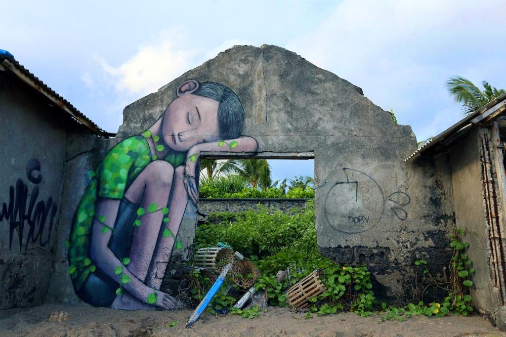 стрит-арт Бали
