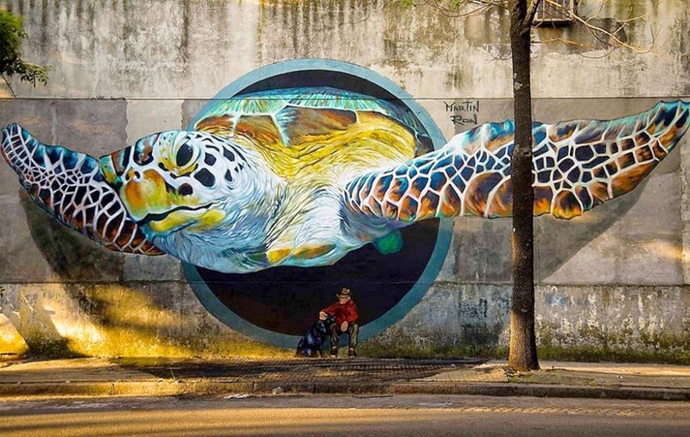 стрит-арт Буэнос-Айрес, Аргентина фото
