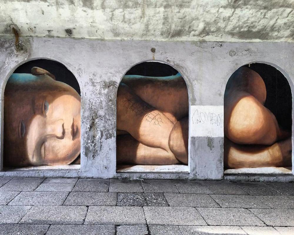стрит-арт Берген, Норвегия
