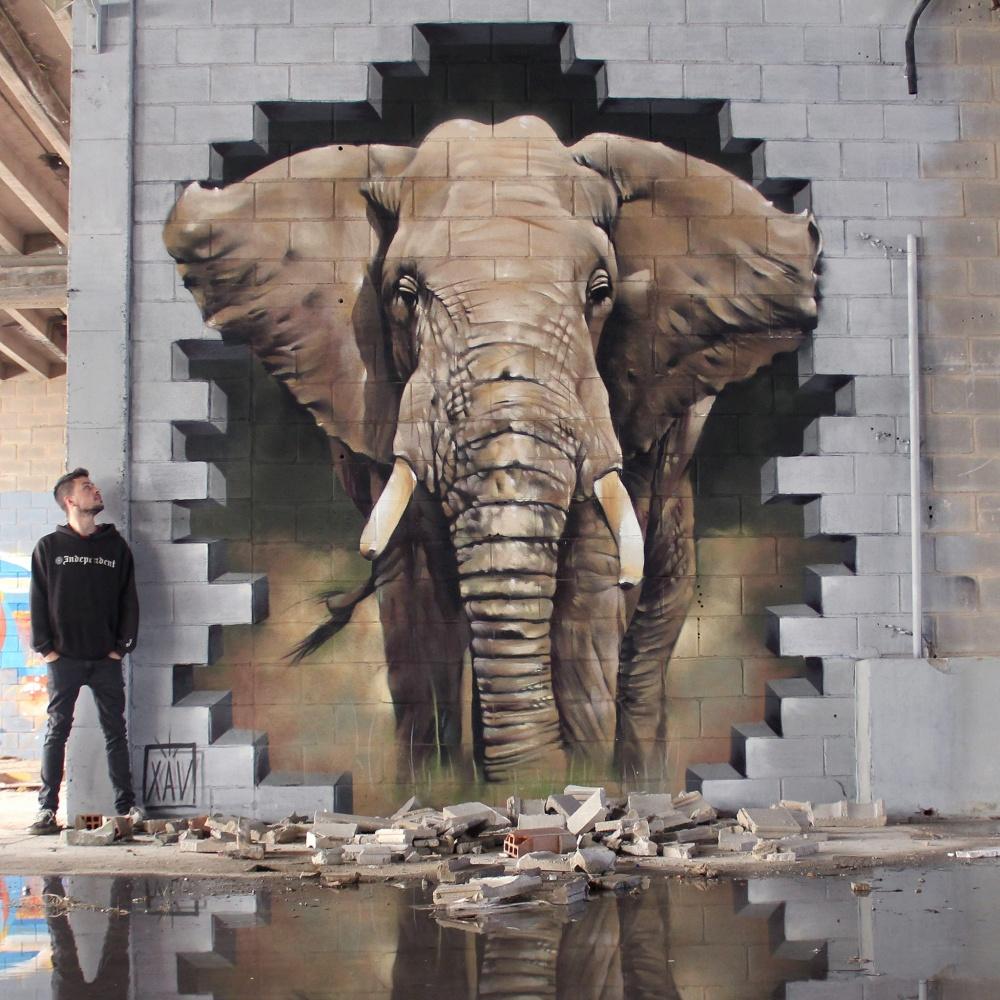 стрит-арт Испания