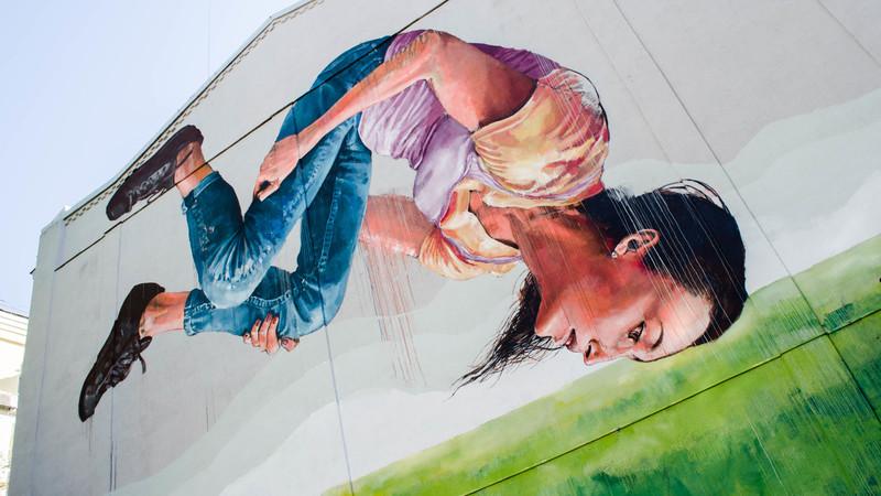 мурал Kickit Art Studio, город Киев, Украина фото