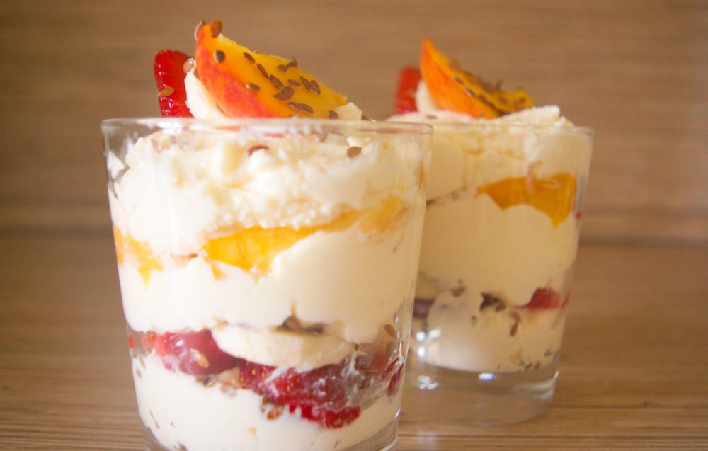 десерт творожный мусс фото