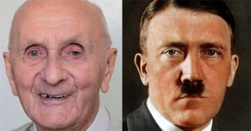 Адольф Гитлер и фото эмигранта