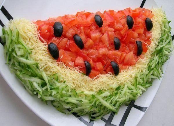 Вкусное и простое блюдо салат