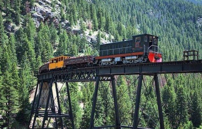 Железная дорога Джорджтаун Луп фото