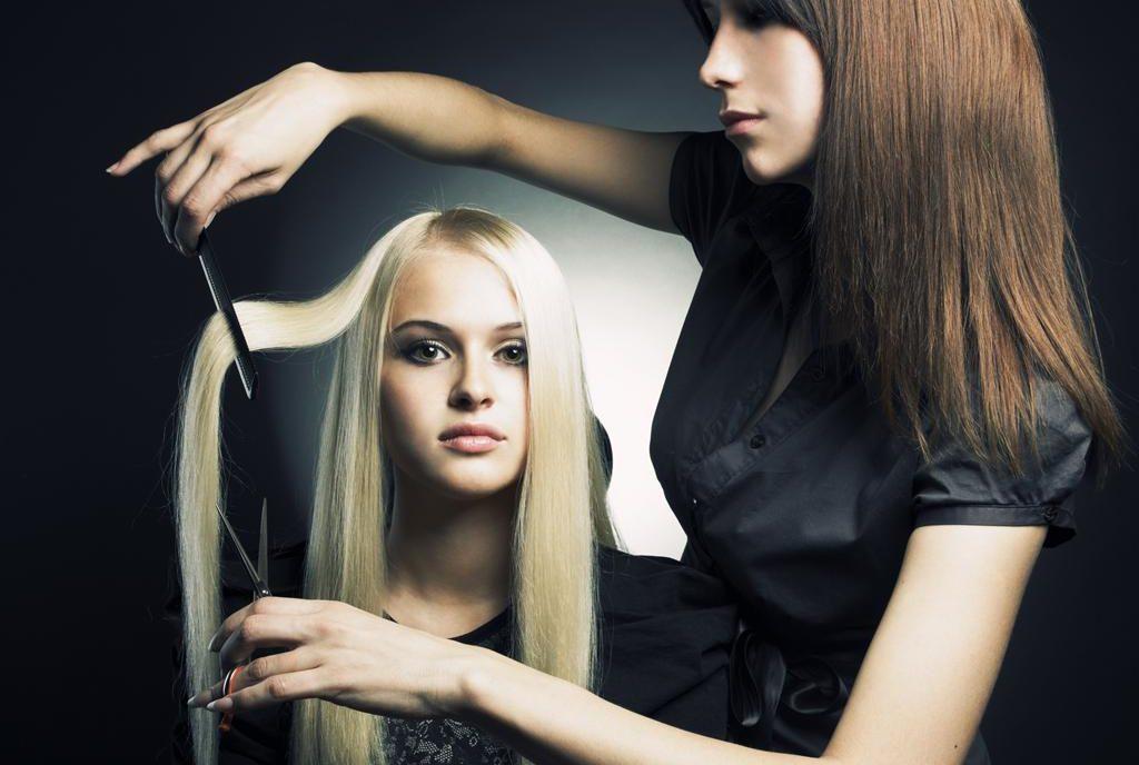 фото стрижки волос у парикмахера