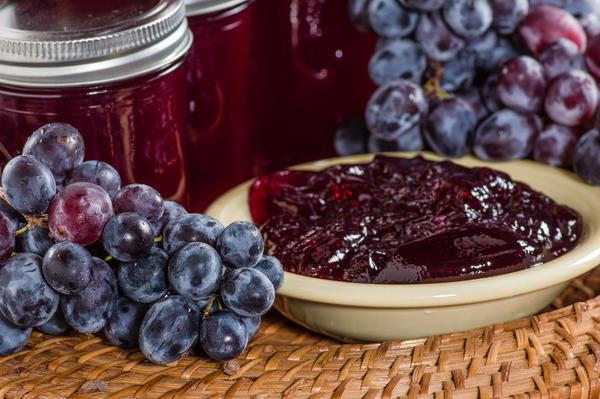 виноградное желе фото