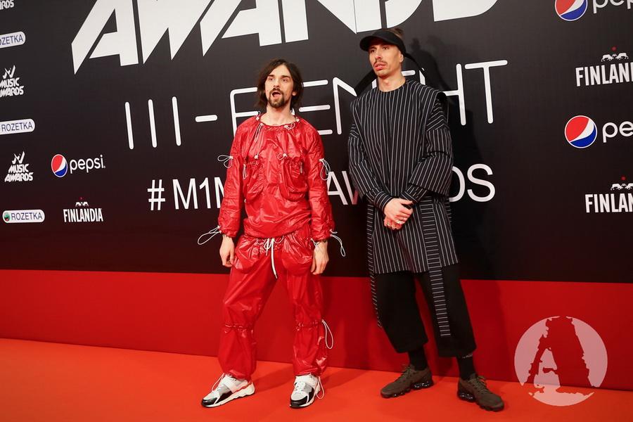 фото группа Агонь на M1 Music Awards III Элемент