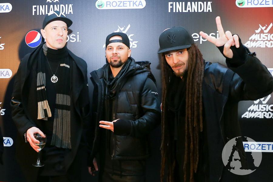 фото группа Грин Грей на M1 Music Awards III Элемент