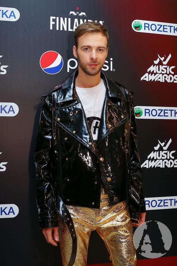 фото Макс Барских на M1 Music Awards III Элемент фото