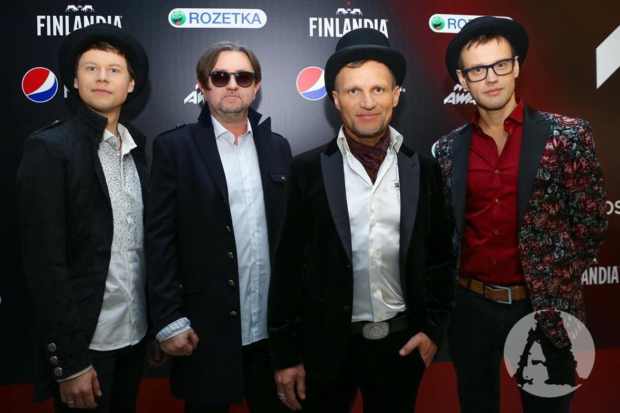 """фото группа """"ВВ"""" на M1 Music Awards III Элемент"""