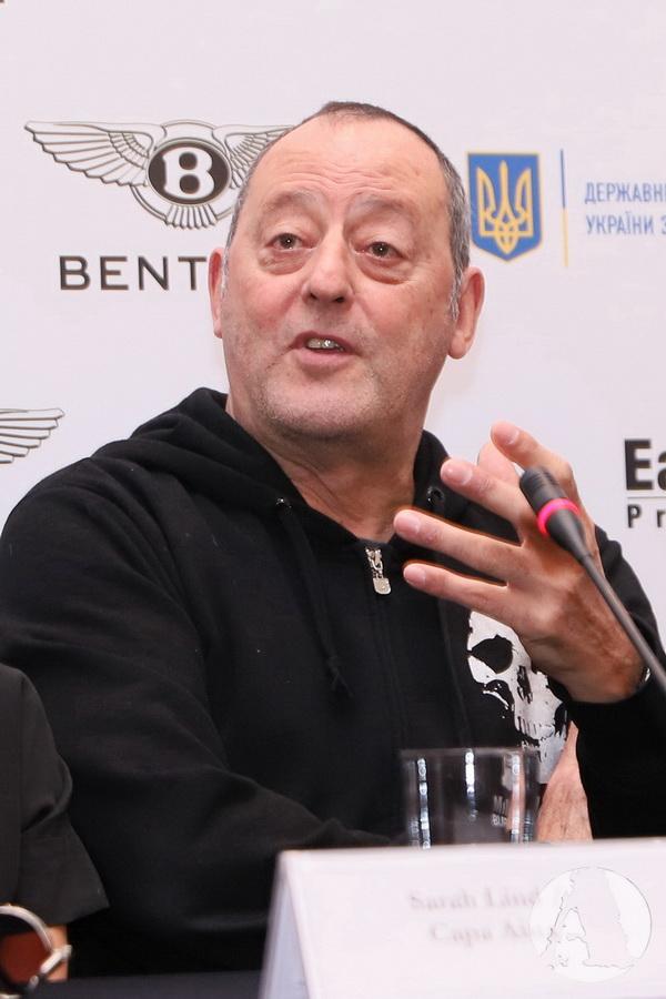Жан Рено пресс-конференция Киев фото3
