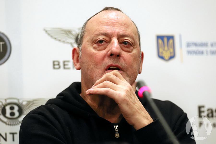 Жан Рено пресс-конференция Киев фото4
