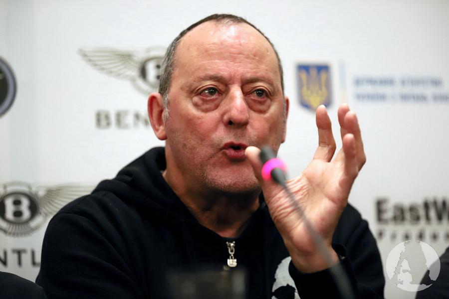 Жан Рено пресс-конференция Киев фото2