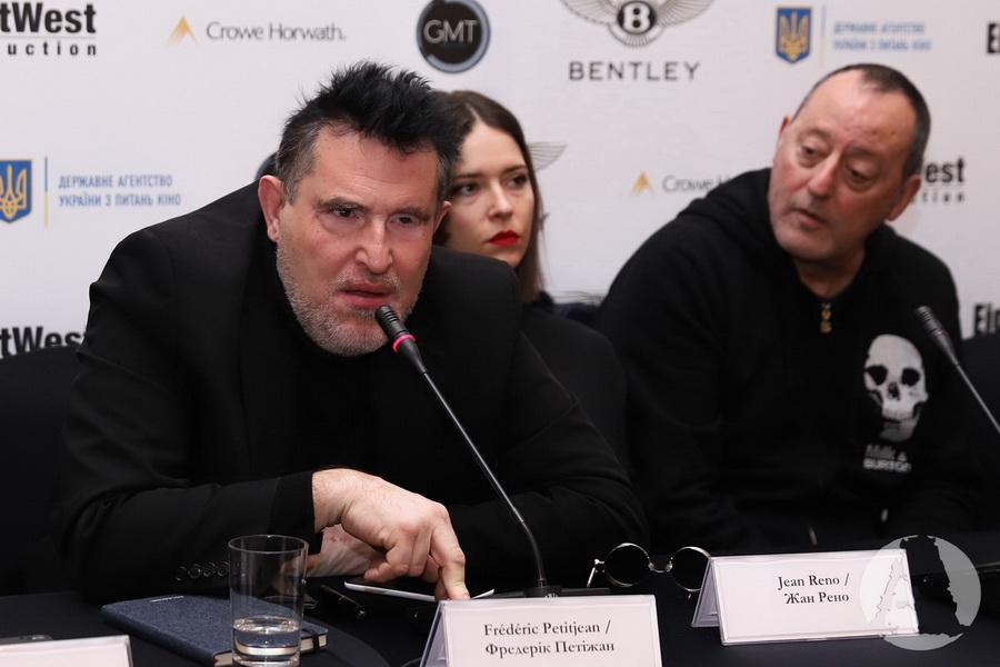 Фредерик Петижан и Жан Рено фото Киев март 2018