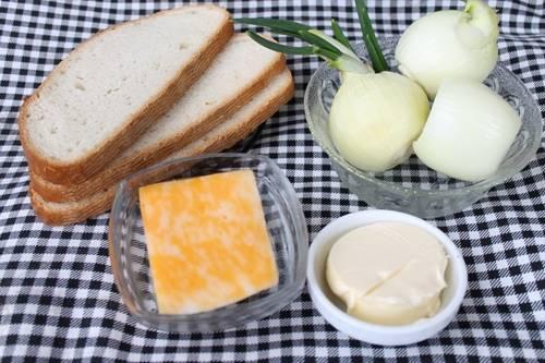 ингредиенты для лукового супа фото