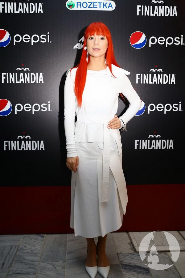 фото Светлана Тарабарова на М1 Music Awards