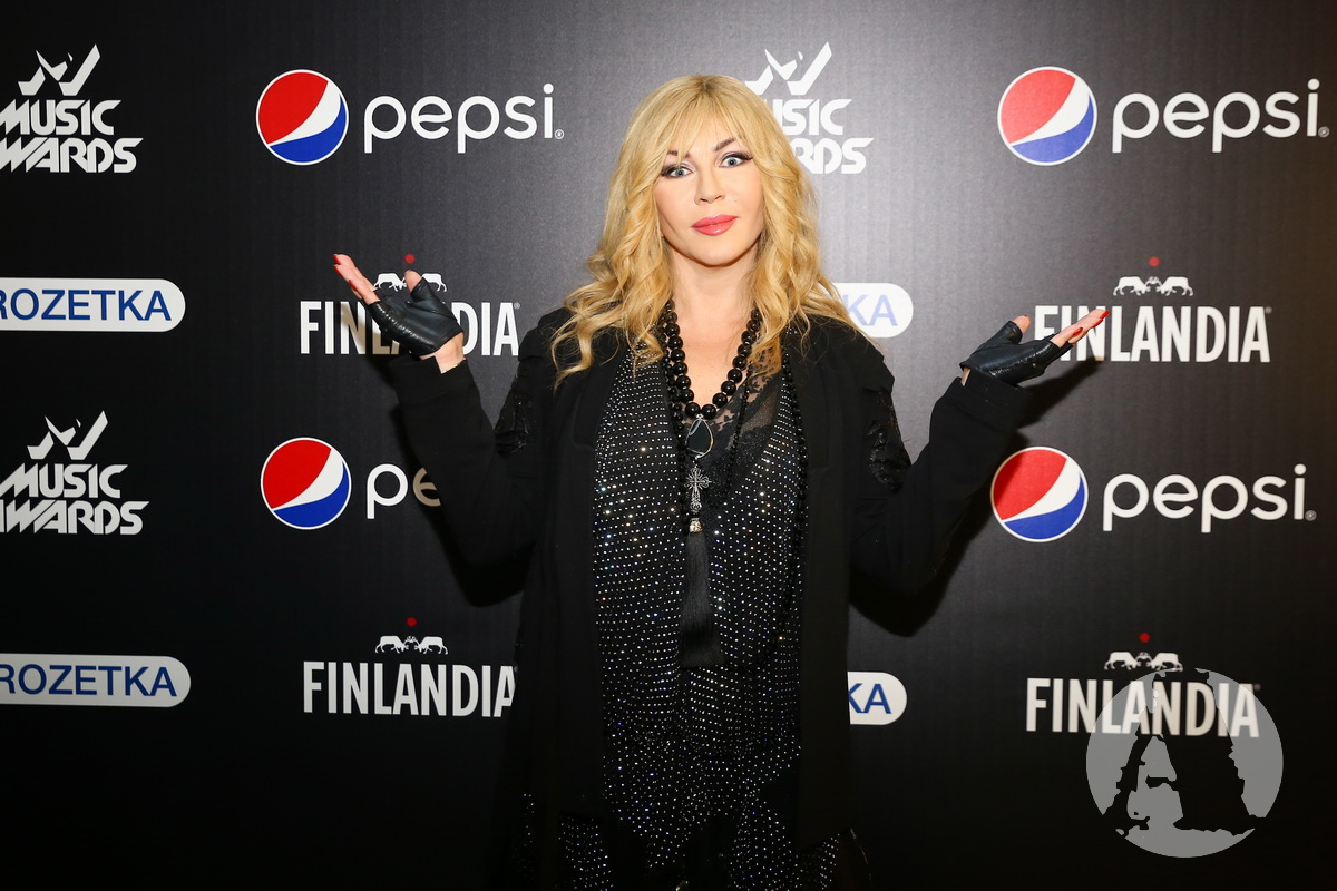 фото Ирина Билык на М1 Music Awards