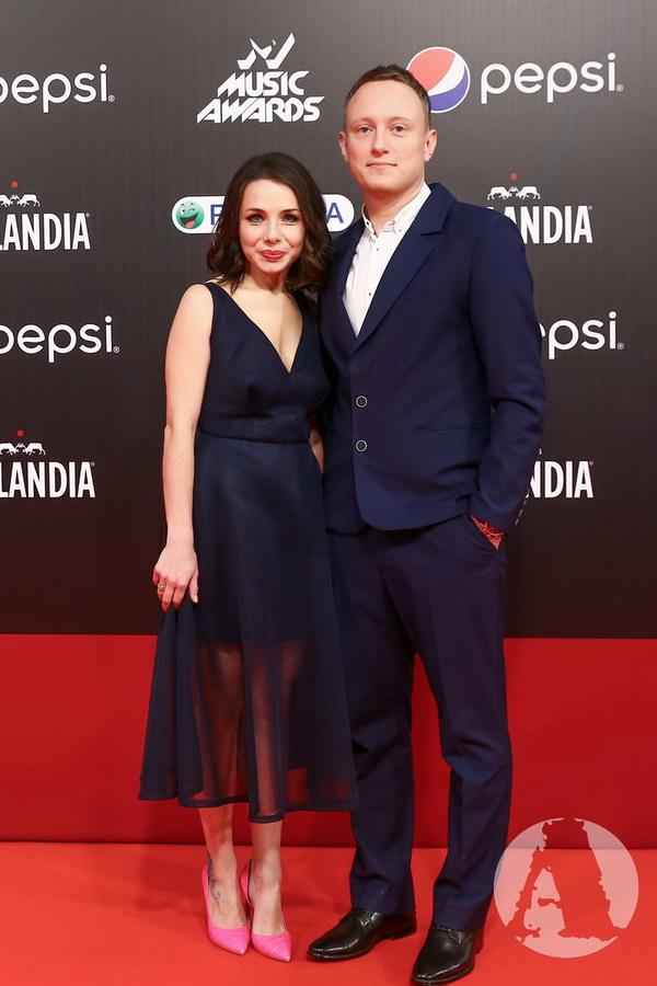 Наталья Гордиенко и Павел Черепин на красной дорожке м1 фото
