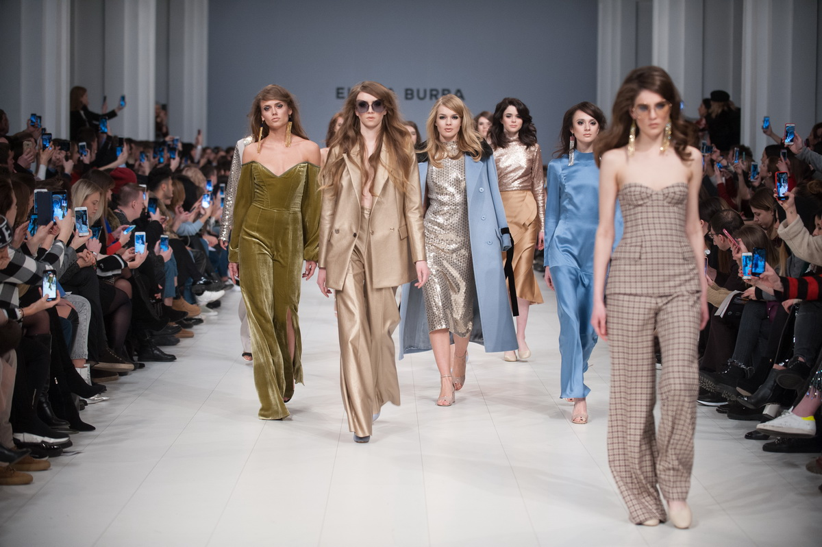 Показ коллекции ELENA BURBA на Украинской Неделе Моды 2018
