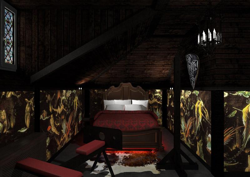 """комнаты в отеле """"Cherry Twins"""" фото2"""