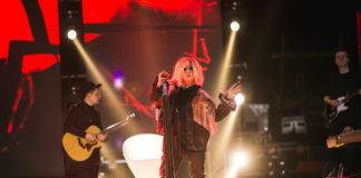 Ирина Билык на концерте в Харькове