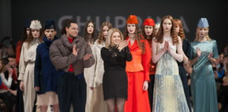 показ Дарьи Чуприной на Украинской неделе моды 2018 фото