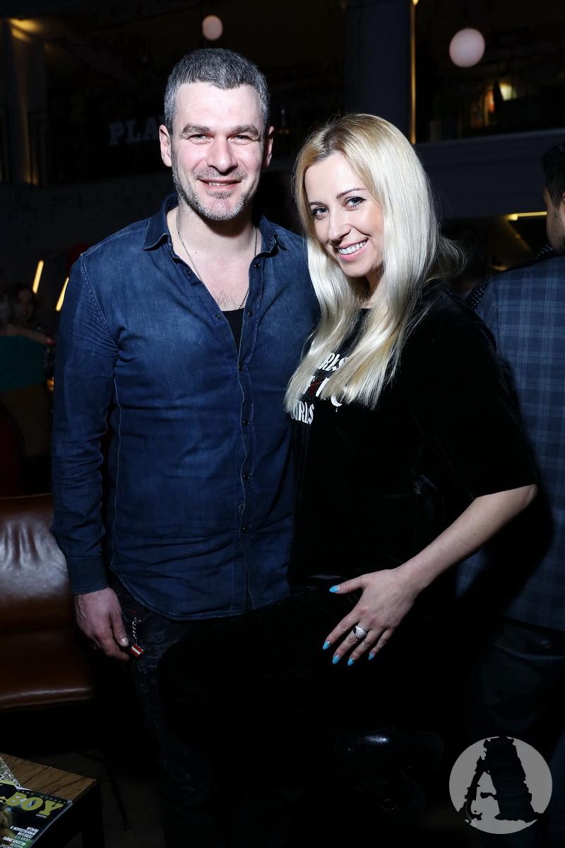Тоня Матвиенко и Арсен Мирзоян на вечеринке playboy фото