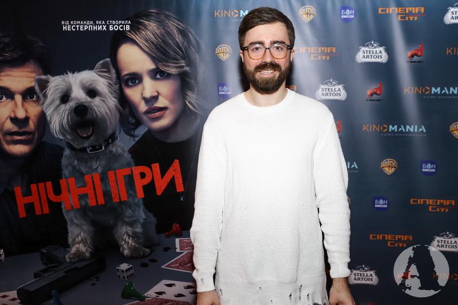Саня Дымов на премьере ночные игры фото