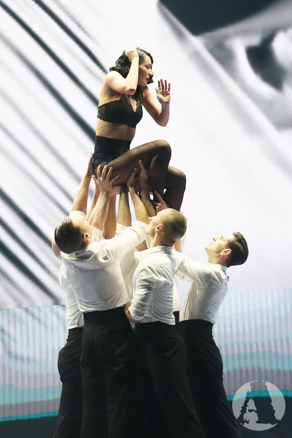 балет Freedom на шоу Ассии Ахат фото