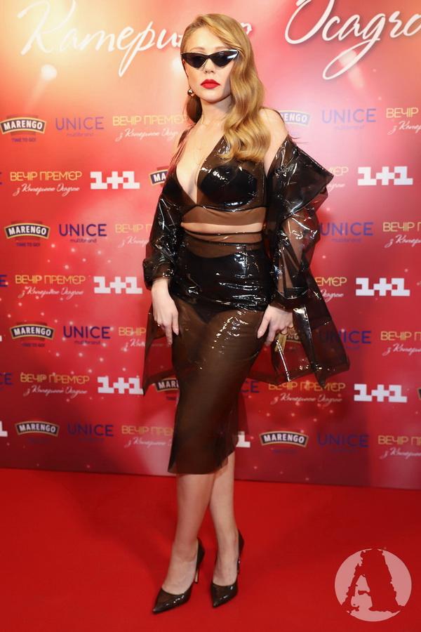 Тина Кароль на вечере премьер с Катериной Осадчей фото