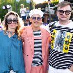 Алина Смолина-Медынская, Роман Медынский, Влад Иваненко фото на презентации сервиса Sparkling Boat