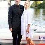 Арсен Мирзоян и Тоня Матвиенко на презентации сервиса Sparkling Boat