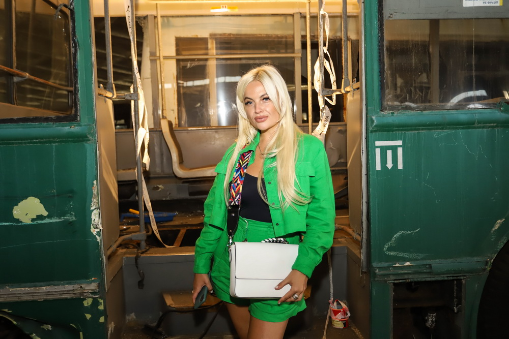 фото Маши Гойя на показе Жана Грицфельдта Love Kyiv