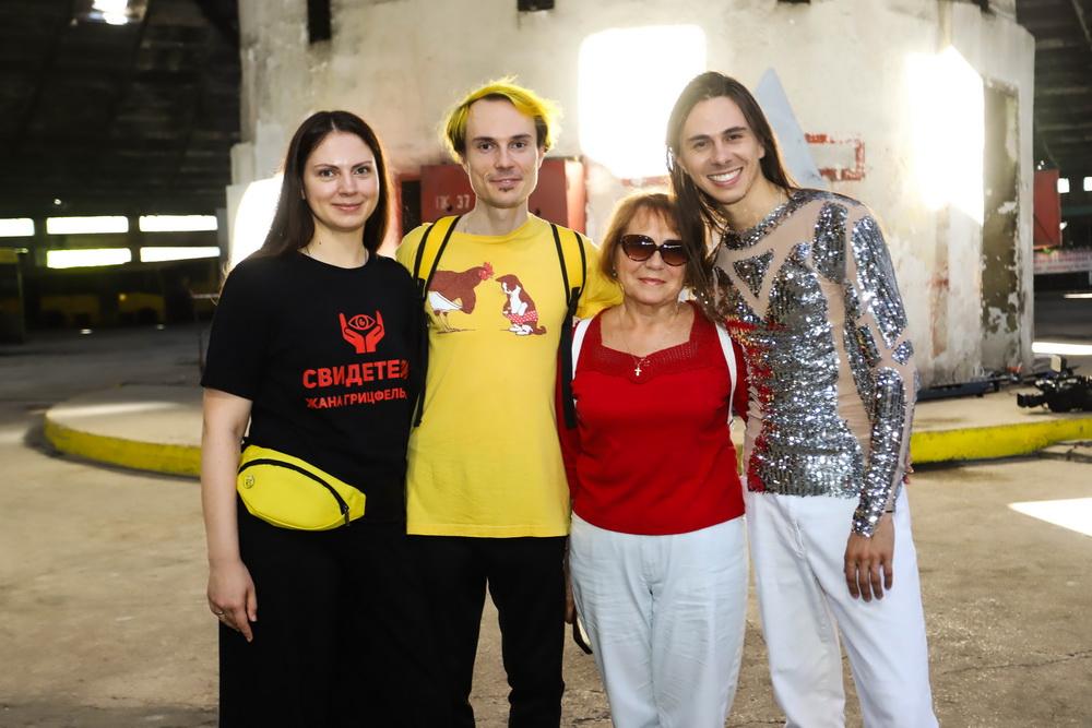 Жан Грицфельдт с семьей поссле показа Love Kyiv фото