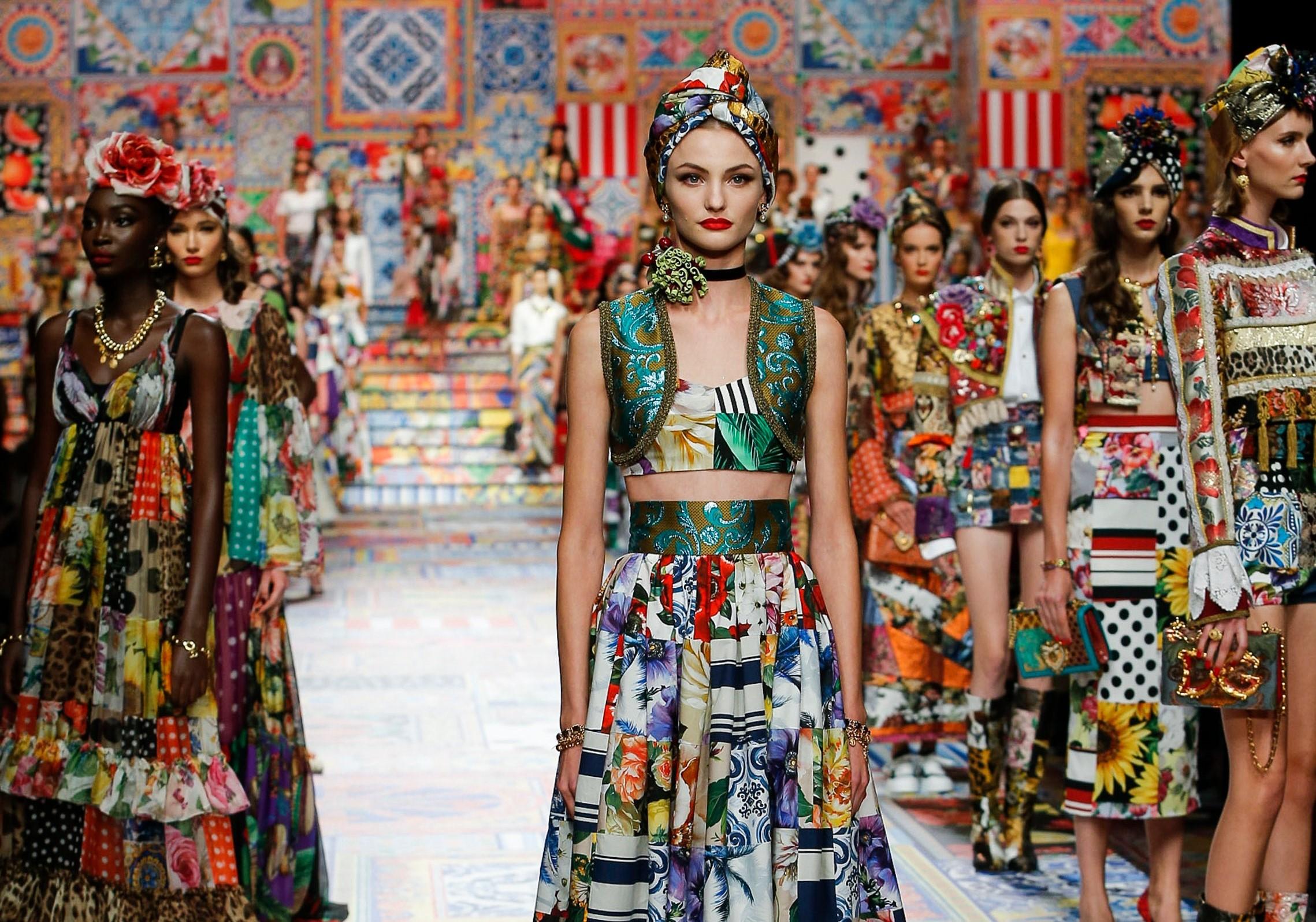 коллекция Dolce & Gabbana весна/лето 21