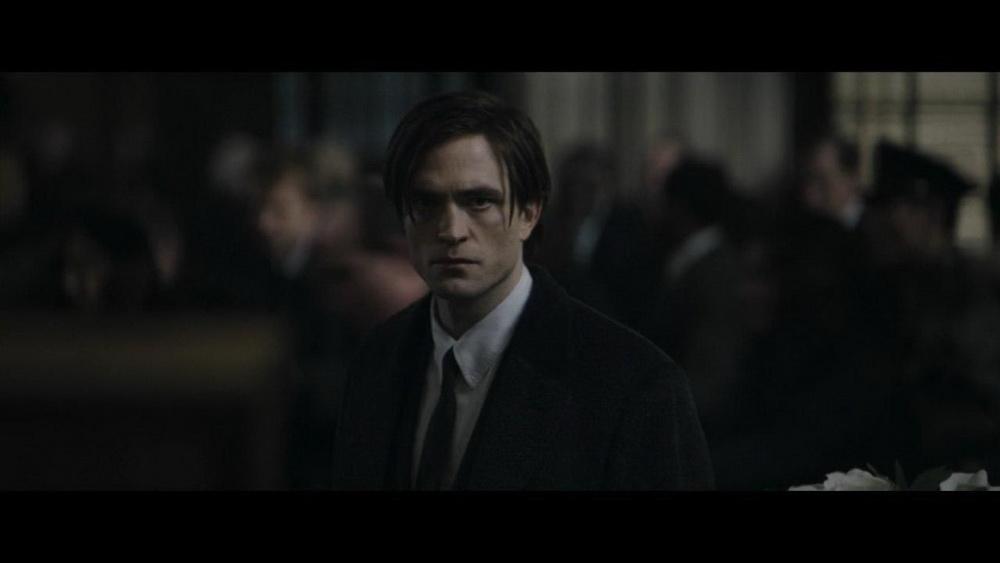 Роберт Паттисон. Кадр из фильма Бэтмен