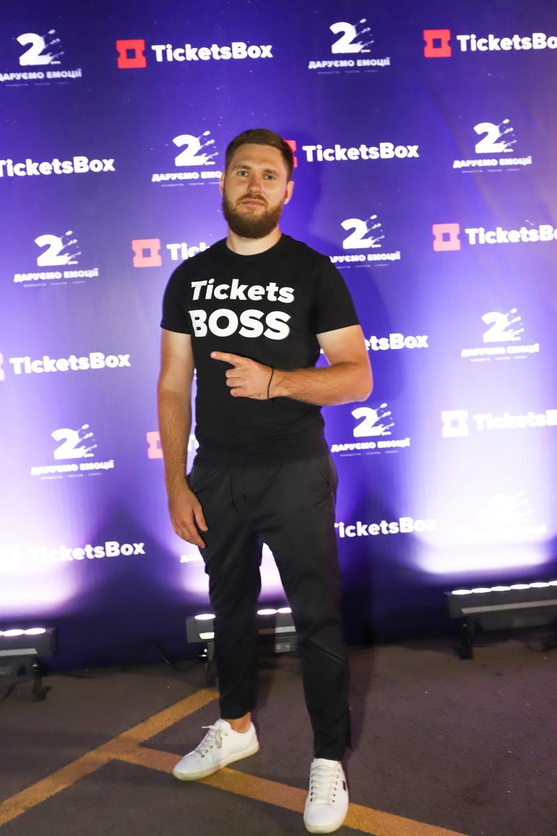 фото Вадима Чернецкого, CEO TicketsBox, на вечеринке «Даруємо емоції» в UNIT city