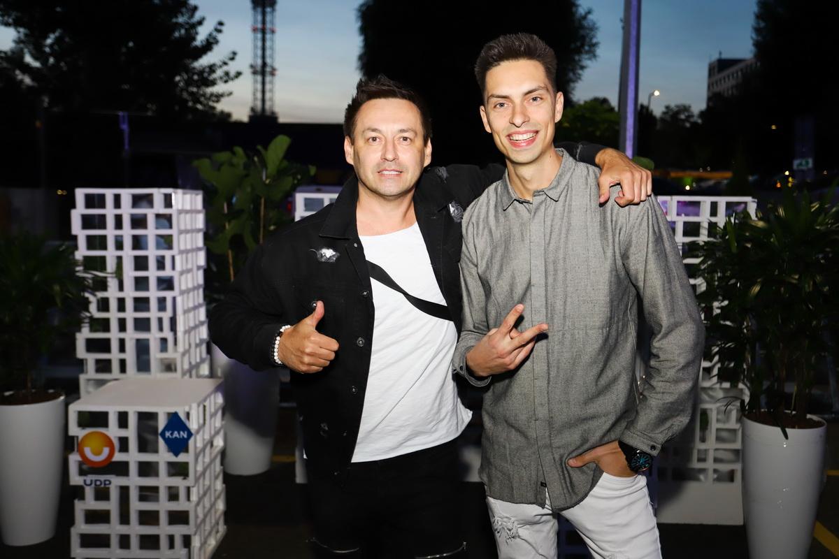 фото Генадия Витера и Андрея Черновола на вечеринке «Даруємо емоції»