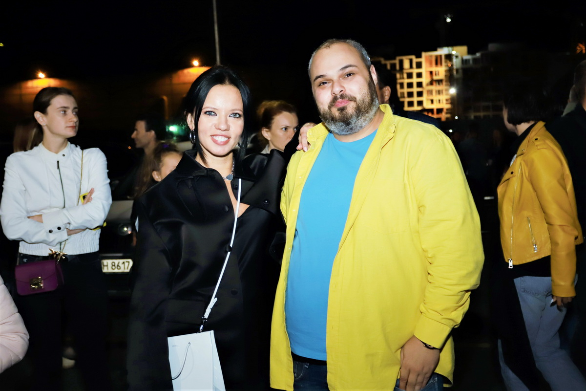 фото Ирины Горовой и Максима Радуцкого на вечеринке «Даруємо емоції»