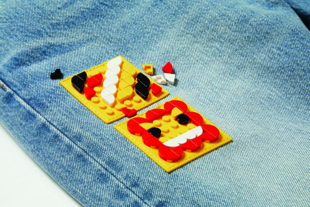 фото Джинсы Levi's с силиконовой вставкой LEGO