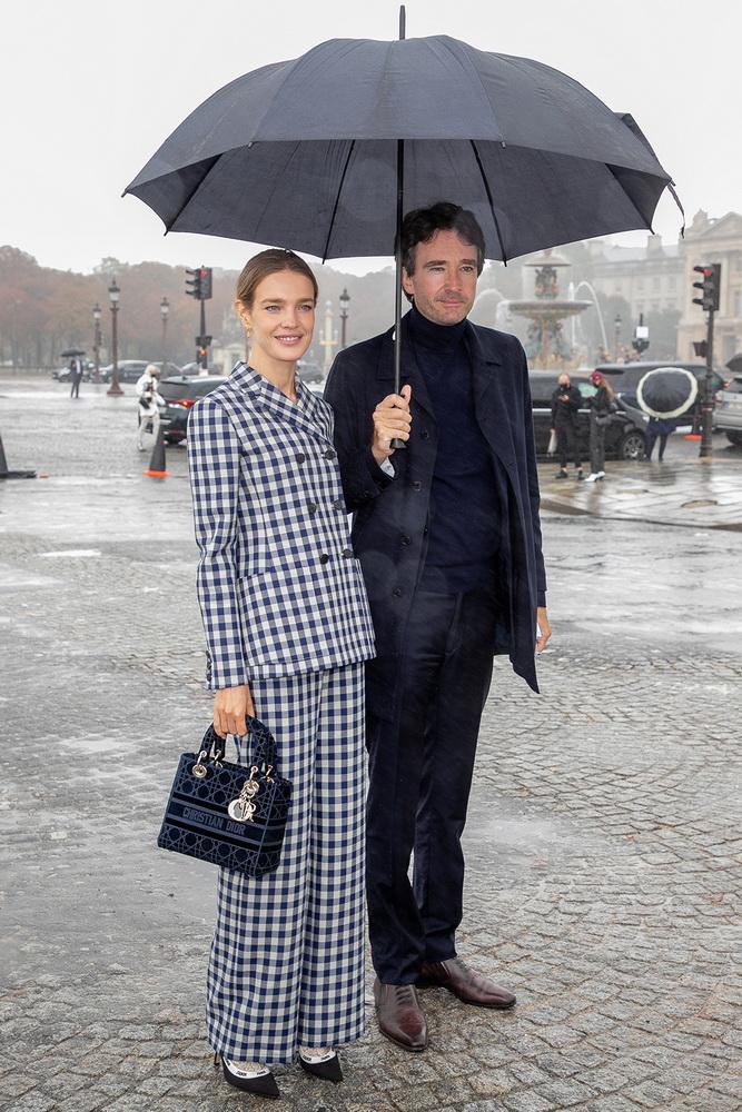фото Наталья Водянова и Антуан Арно, Париж, перед показом Dior