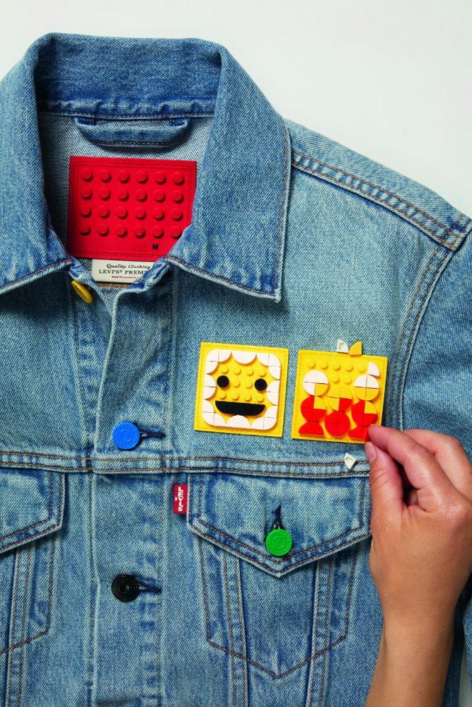 фото джинсовой куртки из коллекции Levi's LEGO