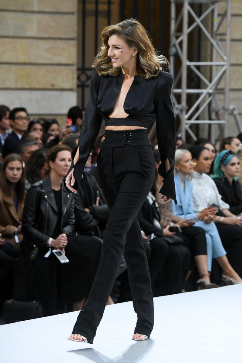 фото Катерина Сильченко на подиуме L'Oreal Paris Le Défilé