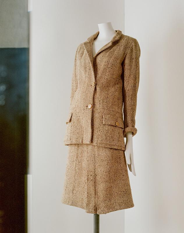 фото экспоната: Твидовый костюм, примерно 1927-1929