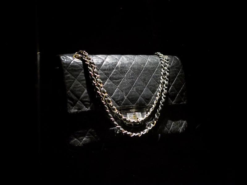 фото стеганой сумки Chanel 2.55, 1955-1971 год