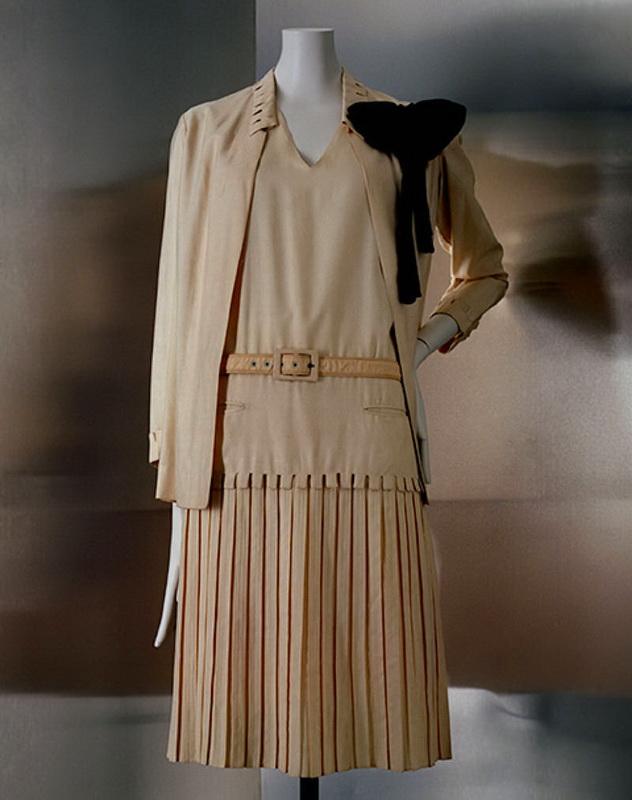фото платья и жакета Шанель, 1926 год