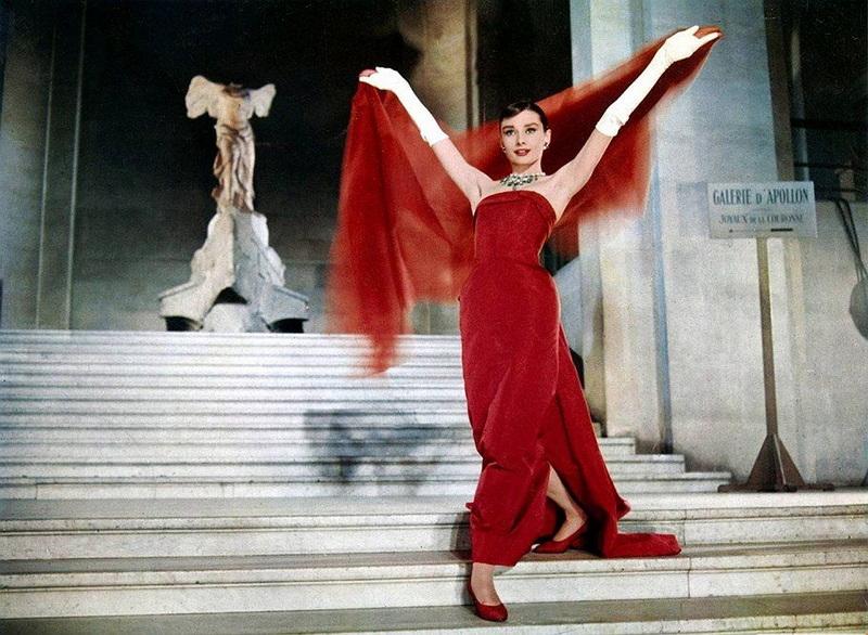 фильмы про моду - Забавная мордашка, 1957