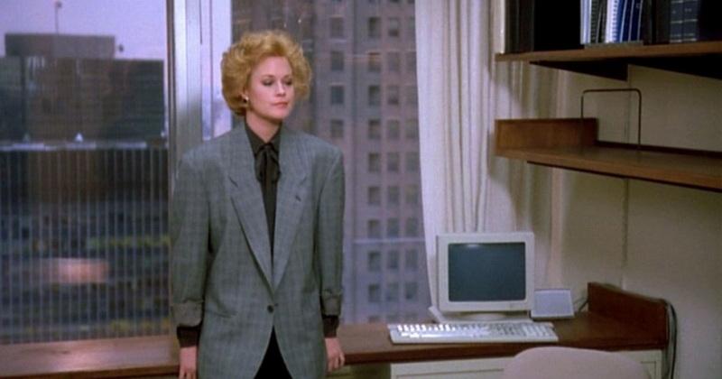 фильм про моду и стиль - Деловая женщина, 1988